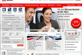 Bahn:德国联邦铁路公司官方网站:www.bahn.de