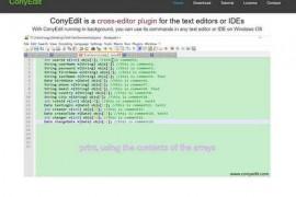 ConyEdit|专注于编程的文本编辑器:www.conyedit.com