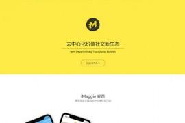 麦奇|去中心化社交应用:maggie.vip