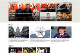 英国广播公司BBC官方网站:www.bbc.com