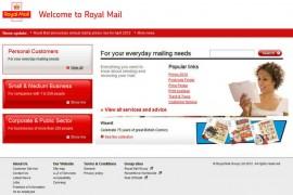 RoyalMail:英国皇家邮政官方网站:www.royalmail.com
