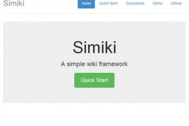 Simiki:免费开源个人维基框架:simiki.org