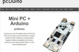 PCduino:迷你软硬件创新开发平台