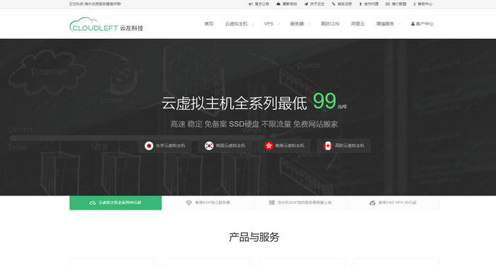 云左科技 - 海外优质服务器提供商:www.cloudleft.com