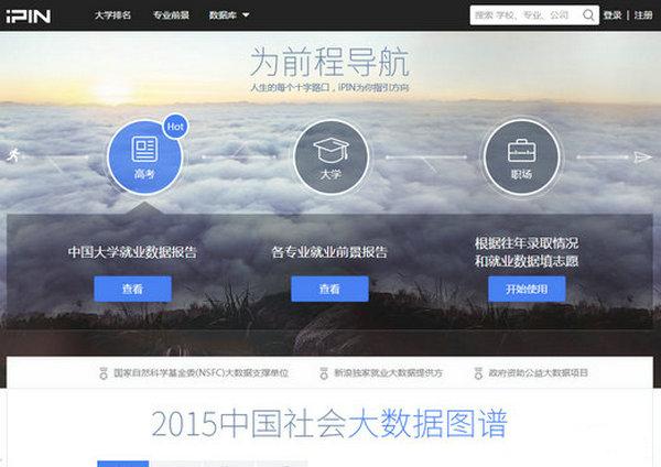 iPin:爱拼人才大数据平台:www.ipin.com